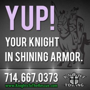 Call Knight Towing for Roadside Assistance