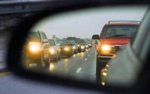 Roadside Emergency Towing Service in Traffic