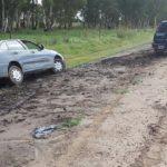 Car in a Ditch